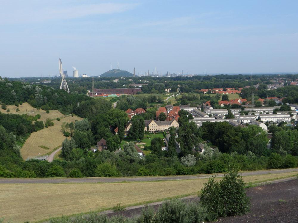 Ausblick von der Halde Rungenberg